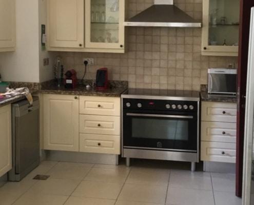 Al Mahra Type 14 Kitchen Area (Before)