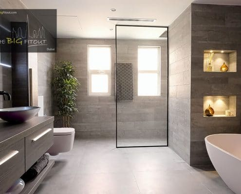 B1 Type Master Bathroom