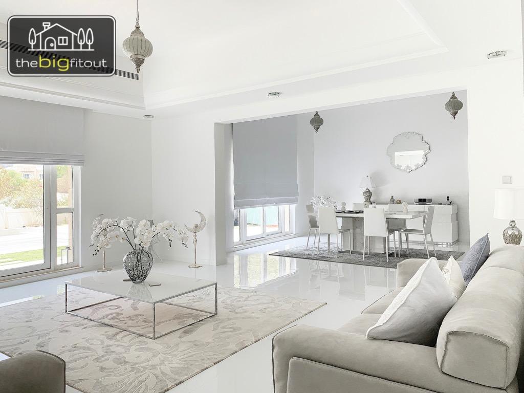 Living room flooring & painting
